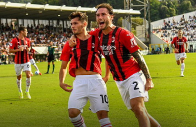 AC Milan defeated Spezia 2-1, soaring to the top of the crowd