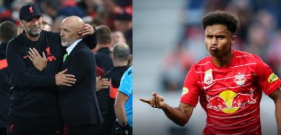 AC Milan joins the Salzburg striker against Liverpool
